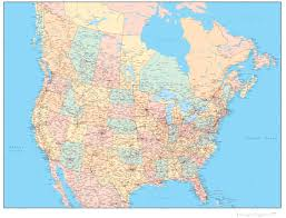 Map Of Cities In Usa by Download United States Canada Map Major Tourist Attractions Maps