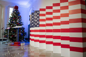 House Decor An Inside Look At Michelle Obama U0027s Final White House Holiday