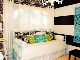Black And White Daybed Bedding Sets Bedroom Interesting Picture Of Black And White Teenage Bedroom