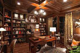 a luxury home office with oak design modern home designs ultimate
