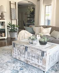 Farm Style Living Room by Love This Distressed Trunk Coffee Table Family Room Farmhouse