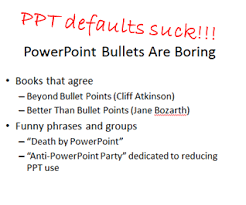 Super Secret PowerPoint Tips I Can     t Live Without The default layouts are what give PowerPoint