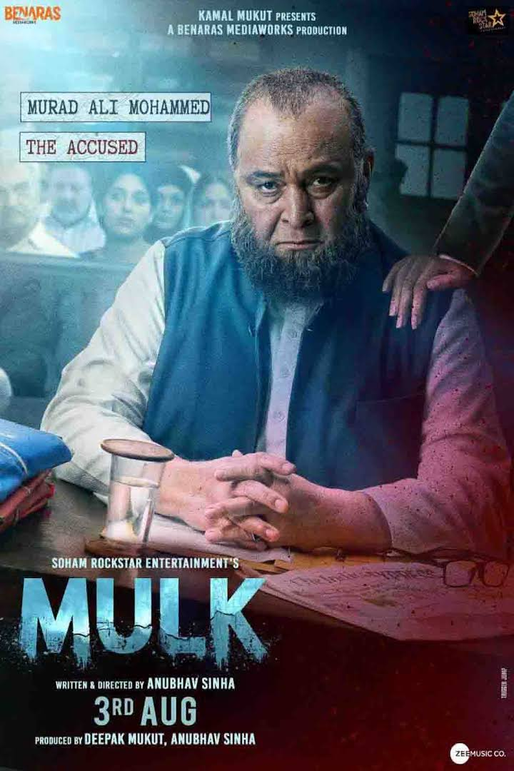 Mulk 2018 Hindi 720p WEB-DL x264 DD5.1 AAC AVC 1.3GB