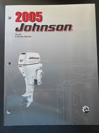 2005 oem johnson so outboard service repair shop manual 30 hp 4