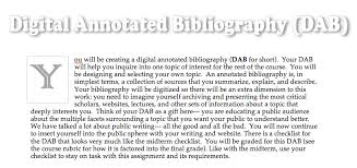 On Compiling an Annotated Bibliography  James L  Harner