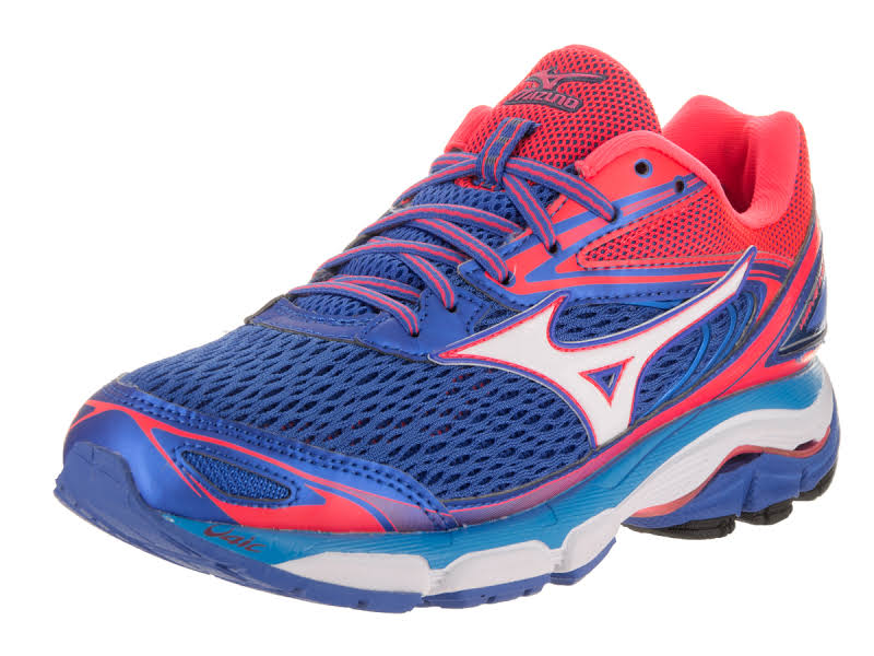 Mizuno Wave Inspire 13 Blue / White Pink Ankle-High Mesh 6M