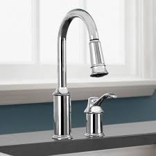 Moen 90 Degree Kitchen Faucet Bathroom Interesting Moen Faucets With Silver Faucets In Modern