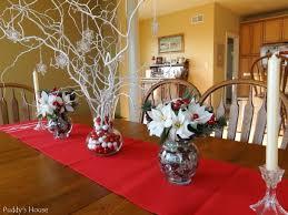 christmas christmas table centerpieces diy