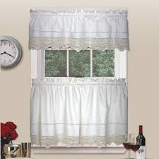 Country Living Room Curtains Country Living Heirloom Crochet Tier Pair