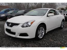 nissan altima 2013 ls 2011 nissan altima 2 5 s coupe in winter frost white 174597