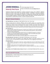 Nursing Student Sample Resume by Sample Cv For Nursing Student