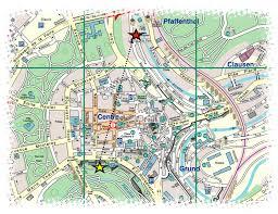 Luxembourg Map Sunday Under The City The Aqua Tunnel Bakker Bugle Blog