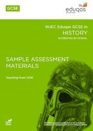 GCSE       History GCSE       History GCSE History SAMs