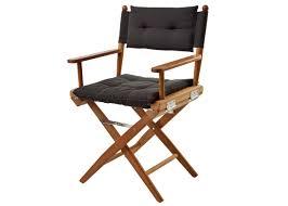 Luxury Beach Chair Black Directors Chair Back