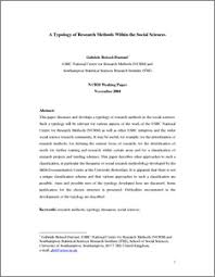 Social science research paper example Writing a Research Paper for Your Science Fair Project