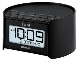 Jcpenney Clocks Ihome Bluetooth Bedside Dual Alarm Clock Radio With Speakerphone