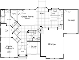 Floor Plans For One Level Homes by Messina Ivory Homes Floor Plan Main Level Ivory Homes Floor