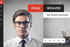 Best vCard WordPress Themes      For Your Online Resume   Colorlib How Can I Send My Resume To My Email  how to attach and email a