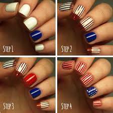 4th of july nails stars and stripes nail art more com
