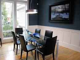 Black And White Dining Room Chairs This Stylish Glass Table Is Trimmed With Sophisticated Black