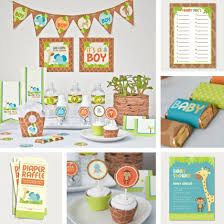 jungle baby shower table decorations u2013 home party theme ideas