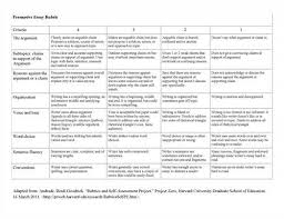 Narrative Essay Rubric For Elementary Sdy Paper