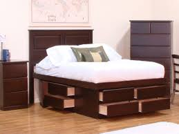King Platform Bed Plans With Drawers by Easy Diy King Platform Beds With Storage Modern King Beds Design