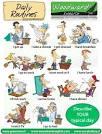 กิจวัตรประจำวันภาษาอังกฤษ | เรียนรู้ภาษาอังกฤษไปด้วยกัน พร้อมรับ AEC