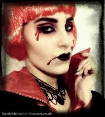 lipstick in london halloween vampire makeup