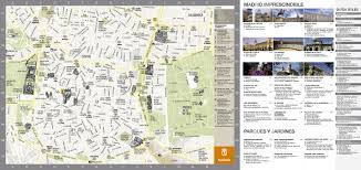 Madrid Spain Map by Large Detailed Tourist Map Of Madrid City Madrid City Large