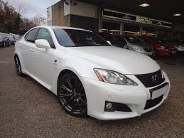 lexus v8 history used lexus is f 5 0 v8 auto navigation pearl white anthracite