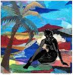 Beach Nude 3 Painting by Everett Spruill – Beach Nude 3 Fine Art
