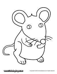 cute and little 12 mouse coloring pages print color craft