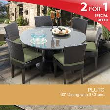 60 inch round dining table patio dining table for 6