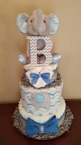 Boy Baby Shower Centerpieces by Best 25 Chevron Diaper Cakes Ideas On Pinterest Diaper Cakes