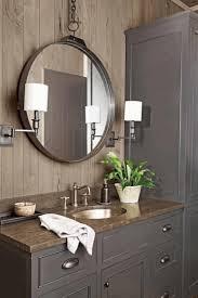 white bathroom floor cabinet white stained wooden frame glass