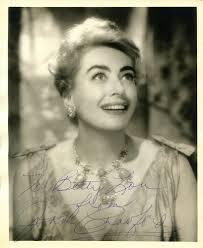 actors joan crawford images psa autographfacts