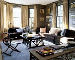 brown wooden color color scheme for living room black white fur