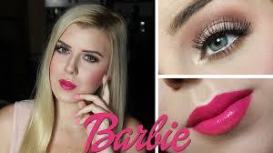 Halloween Barbie Makeup barbie halloween makeup tutorial 2014 youtube