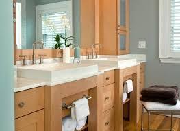 Nice Bathroom Long Sink Bathroom Narrow Interior Decorating Ideas With Modern