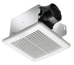 Quiet Bathroom Exhaust Fan Amazon Com Delta Breez Gbr80 Greenbuilder 80 Cfm Exhaust Fan