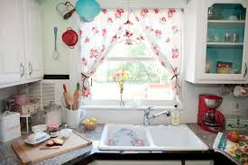 kitchen sink window curtains intended inspiration