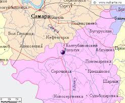 бузулук карта