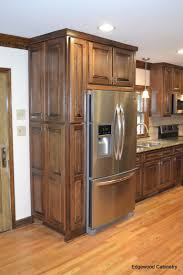 Kitchen Cabinets Stain Custom Maple Cabinets Finished In A Walnut Stain And Then A Black