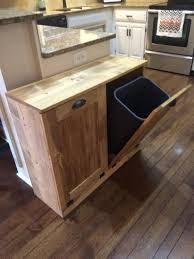 Free Wooden Garbage Box Plans by Best 25 Recycling Bins Ideas On Pinterest Kitchen Recycling
