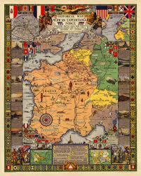 Europe After Ww1 Map by American Expeditionary Force Wwi Historical Map Battlemaps Us