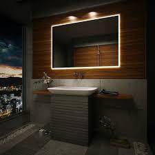 Bathroom Mirror Design Ideas Illuminated Bathroom Mirrors Australia Creative Bathroom Decoration