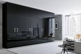 Black Bedroom Set With Armoire Black Closet Wardrobe Roselawnlutheran