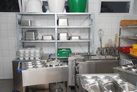 industrial kitchens and their storage needs