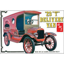 Old Ford Truck Model Kits - amt 1 25 1923 ford model t delivery van